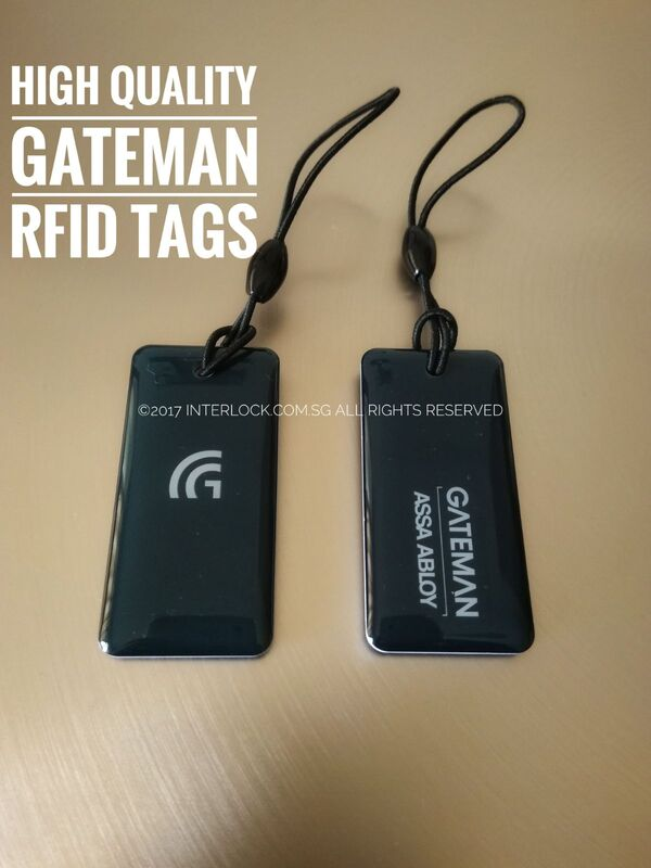 Gateman High Quality RFID Tags. 2 nos Included
