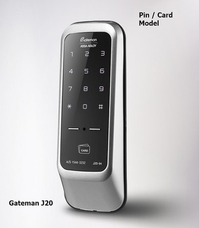 Gateman J20 ( J20-IH) digital door lock.