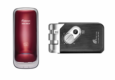 Gateman Rose 2: Beauty and strength in a digital lock.
