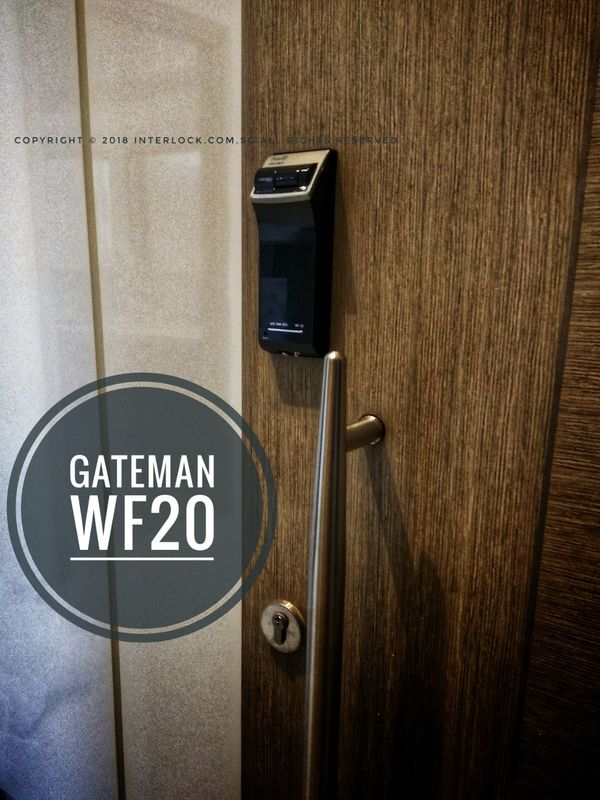 Gateman Wf20 Singapore Edition Digital Lock Interlock