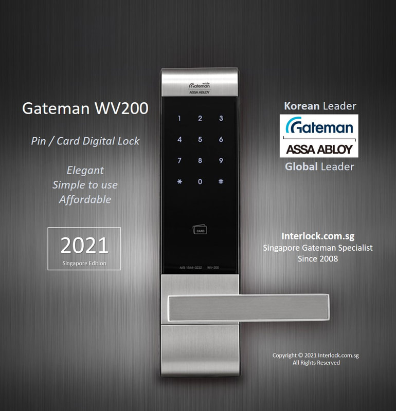 Assa Abloy Gateman WV200 Digital Lock. Premium build quality. Simple to use. Affordable.